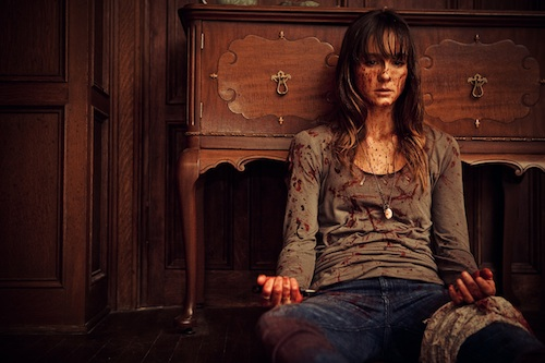 Sharni Vinson publicity photo from YOU'RE NEXT